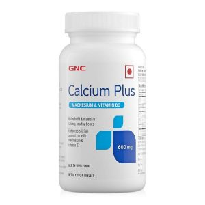 Calcium Plus 600 mg with Magnesium and Vitamin D3 180 Tablets