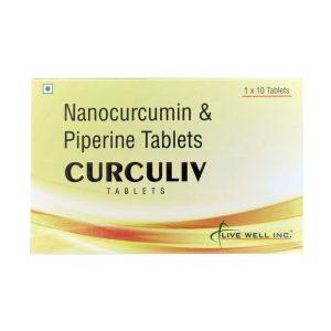 Curculiv Tablets Nanocurcumin Piperine Tablets 2