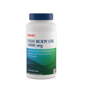 GNC Fish Oil Omega3s  180 Capsules