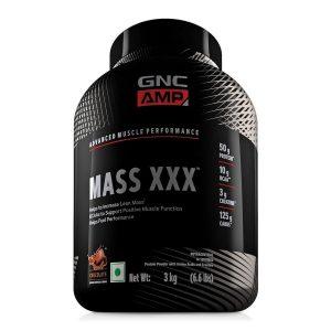 GNC Amplified Mass XXX 50g Protein 3 kg Chocolate
