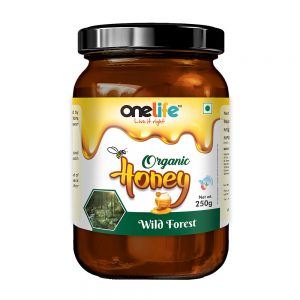 Onelife Organic Honey Wild Forest 250gm