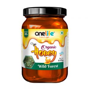 Onelife Organic Honey Wild Forest 650gm