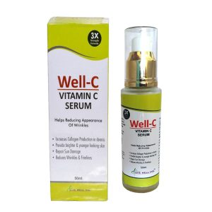 Well C Anti Aging Face Serum Bottle