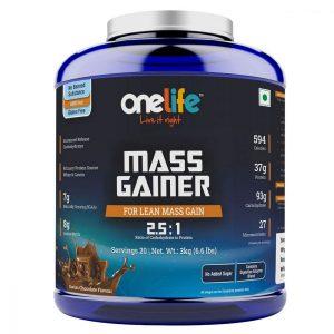 onelife mass gainer
