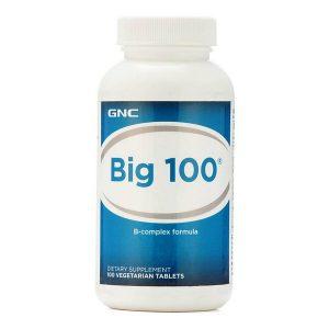 Big 100 Vitamin B Complex Formula