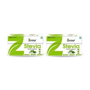 ZINDGI Stevia 50 Sachets