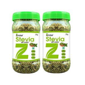 ZINDGI Stevia Natures Sweetener Dry Leaves