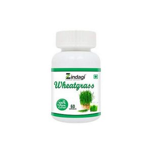 Zindgi Wheatgrass capsule