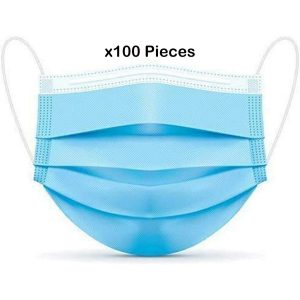 3 ply filter mask pack of 100 pieces