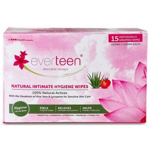 Everteen Feminine Intimate Hygiene Wipes for Women  2 Packs 15 Individually Wrapped Wipes Each  Everteen Feminine Intimate Hygiene Wipes for Women 2 Packs 15 Individually Wrapped Wipes Each 2