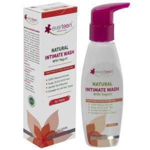 Everteen Yogurt Natural Intimate Wash for Feminine Intimate Hygiene in Teens