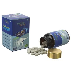 Nature Sure Double Mass Tablets for Weight Gain in Men and Women 1 Pack 90 Tablets3