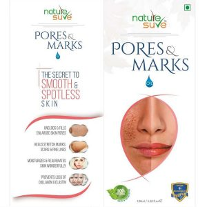 Nature Sure Pores and Marks Oil for Enlarged Pores and Stretch Marks in Men and Women 1 Pack 100ml4