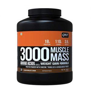 3000 MUSCLE MASS WEIGHT GAIN FORMULA