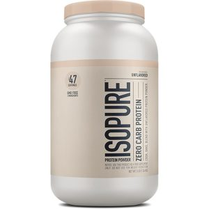 Isopure Whey Protein Isolate Unflavored 3 lb