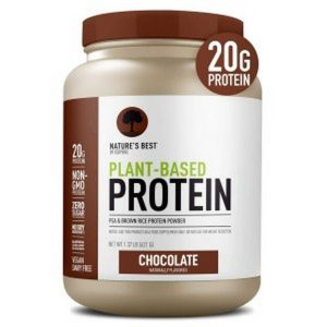 Natures Best by Isopure Plant Based Protein Powder 1.37 lbs 1
