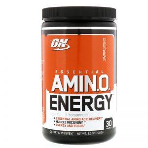 Optimum Nutrition ON Essential Amino Energy 270 Grams Orange 001