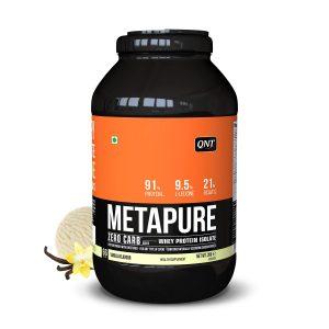 metapure whey protein isolate vanilla 2kg 2