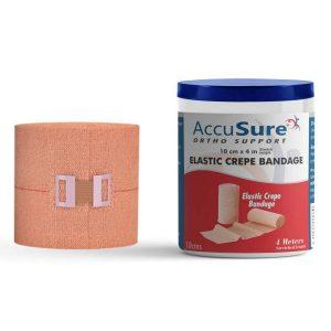 AccuSure Elastic Crepe Bandage 4cm