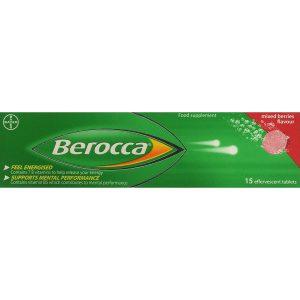 Berocca Mixed Berries 15 effervescent Tablets