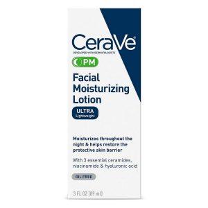 CeraVe Facial Moisturizing Lotion PM 3 fl oz Pack of 2