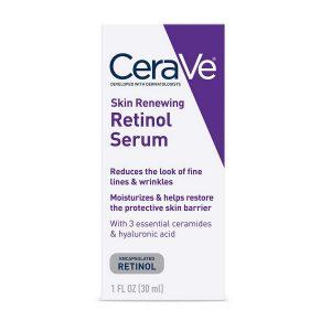 CeraVe Skin Renewing Retinol Serum 1 Fl Oz 30 ml