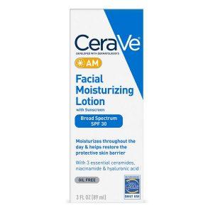 Cerave Moisturizing Facial Lotion Am 3 Ounce