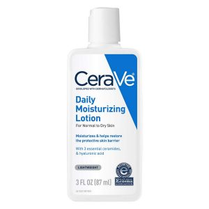 Cerave Moisturizing Lotion 3 Oz Travel Size Face And Body Lotion For Dry Skin