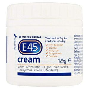 E45 Dermatological Cream 125G