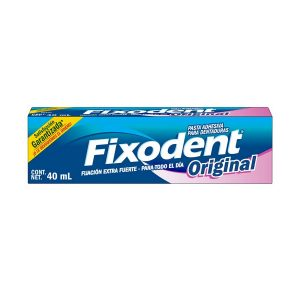 Fixodent Original Denture Adhesive Cream Extra Strong 47ml by Fixodent