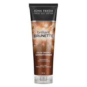 John Frieda Brilliant Brunette Shine Release Moisturizing Conditioner For All Shades 8.45 Oz
