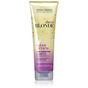 John Frieda Sheer Blonde Color Renew Tone Restoring Shampoo 8.45 oz