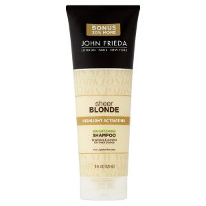 John Frieda Sheer Blonde Highlight Activating Enhancing Shampoo 8.45 oz 1