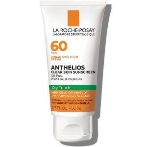 La Roche Posay Anthelios Dry Touch Clear Skin Facial Sunscreen SPF 60 1.7fl. Oz