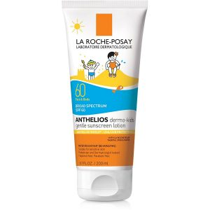La Roche Posay Anthelios Kids Sunscreen For Face And Body SPF 60 With Antioxidants And Vitamin E 6.76 Fl. Oz.