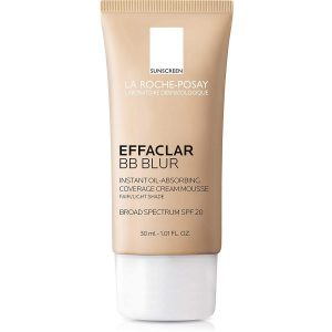 La Roche Posay Effaclar BB Blur Instant Oil Absorbing Coverage BB Cream with Mineral Sunscreen SPF 20