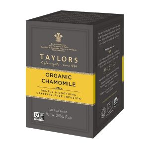 Taylors of Harrogate Organic Chamomile Herbal Tea 50 Teabags
