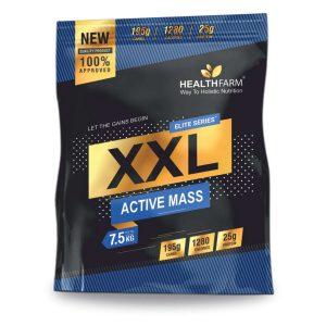 HealthFarm Elite Series XXL Active Mass Weight Gain PowderChocolate Flavour
