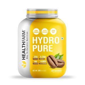 HealthFarm Hydro Pure Whey Protein Isolate Cafe Macchiato 1