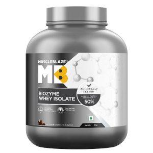 MuscleBlaze Biozyme Whey Protein Isolate