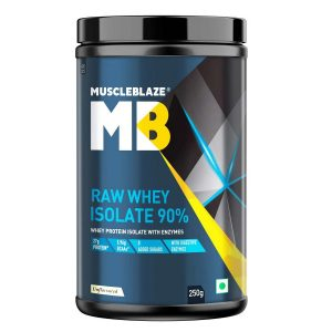 MuscleBlaze Raw Whey Isolate